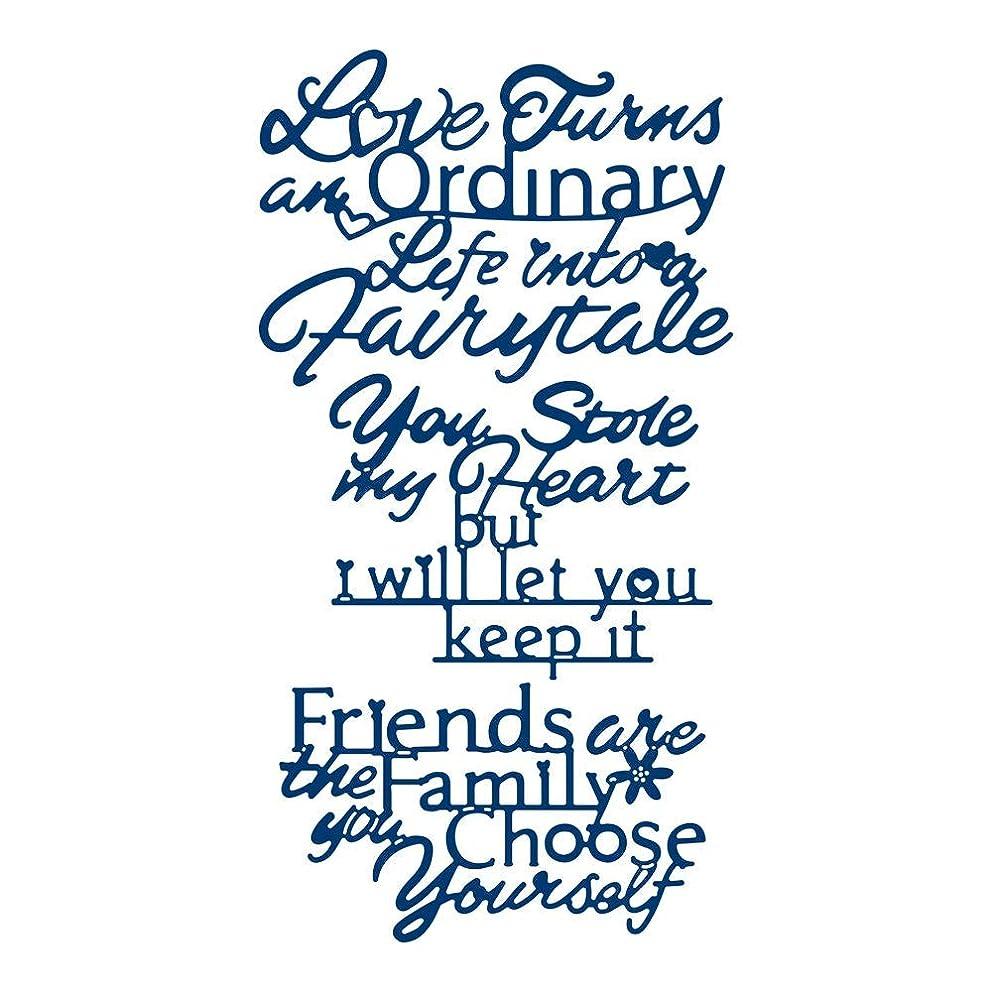 Tattered Lace Fairytale Verses Die Set
