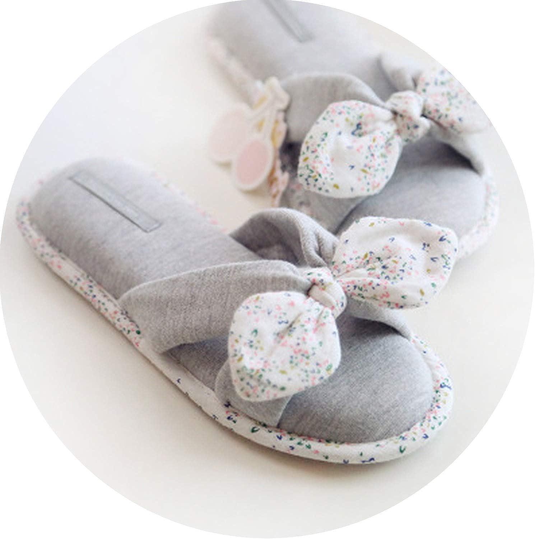 Spring Summer Flip Flops Women Slippers Cotton Indoor House Home Bedroom shoes