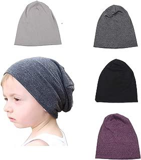 SimleShine 4 Packs Baby Toddler Soft Cute Hats Knit Beanie Worm Winter Caps