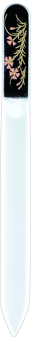 レガシー予感シリンダー橋本漆芸 ブラジェク製高級爪ヤスリ 八月 撫子 紙箱