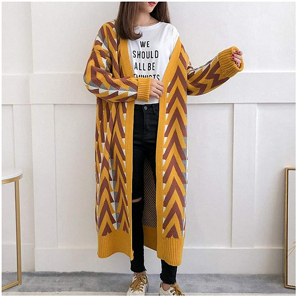 Xileg Women Long Credence Sweater Max 79% OFF Winter Cardigans Ja Autumn