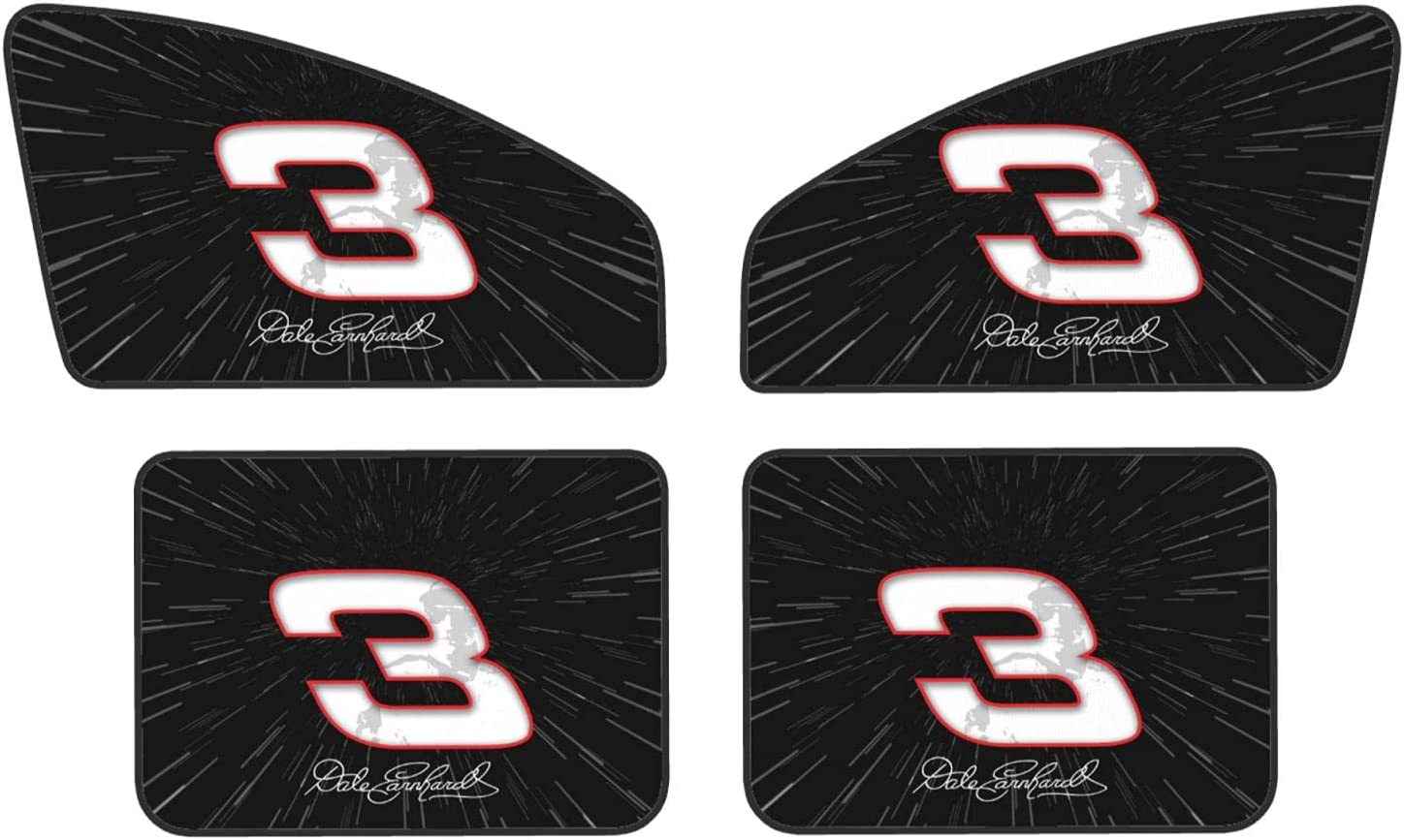 Dale Earn+Hardt Number 3 Ranking TOP8 Front and Rear Privacy 4-Piece Magnetic Ranking TOP5
