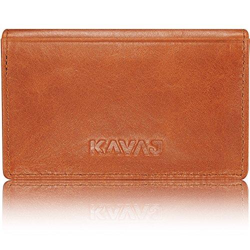 hard briefcases for men - kavaj business card holder leather