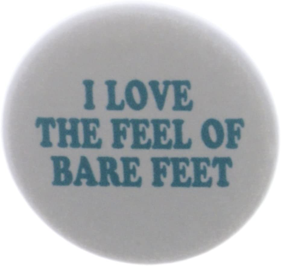 I Love the Feel of Bare Miami Mall feet Barefoot - Shoe Houston Mall MAGNET No
