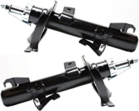 Strut Assembly Kit for Volvo 04 Volvo S40 Set of 2 Twin-tube Black Gas Charged Front Left and Right Side