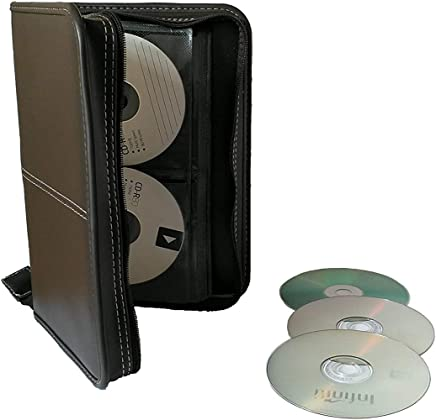King of Flash DVD / Blueray / CD Wallet - 96 Holder Storage Case for Home, Office, Travel or Car