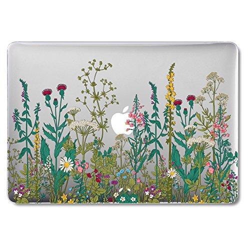 GMYLE MacBook Air 13 Inch Case A1466 A1369 Old Version 2010 2017, Hard Shell Plastic Clear Crystal...