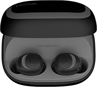 Noise Shots X5 Charge Truly Wireless Bluetooth Earbuds Earphones with Charging Case - Black & Grey