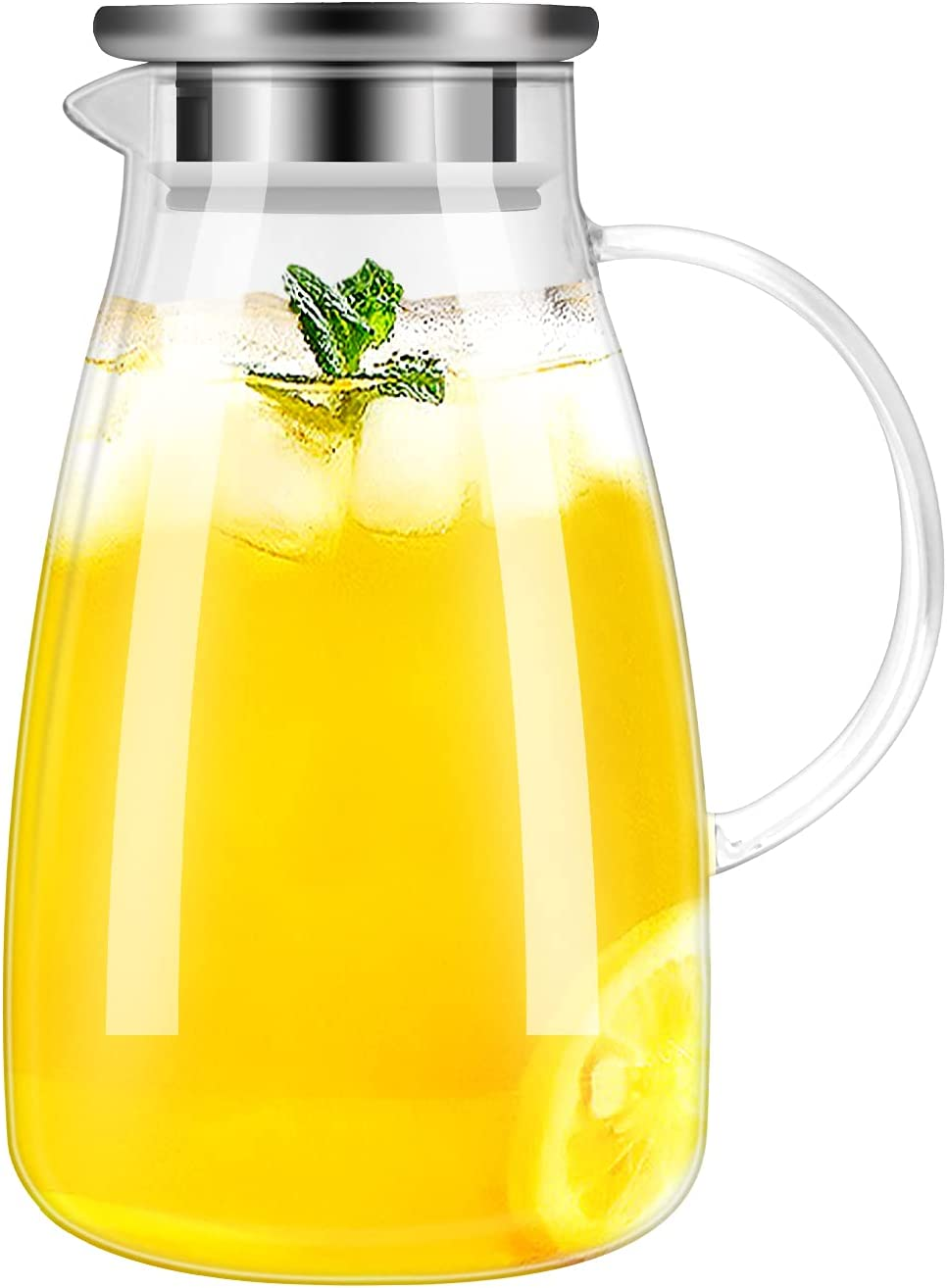 DYKL Large Capacity iced Tea Pitcher- Glass Free Shipping Cheap Bargain Gift 1 Ounces 68 We OFFer at cheap prices Pitcher