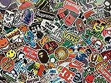 Lot de Stickers Skate, Autocollants Skateboard, Logo, Marque, Sponsor, Sticker Snowboard, Sport extrême, Monster, Ride, skateshop Logos, Graffiti (20)