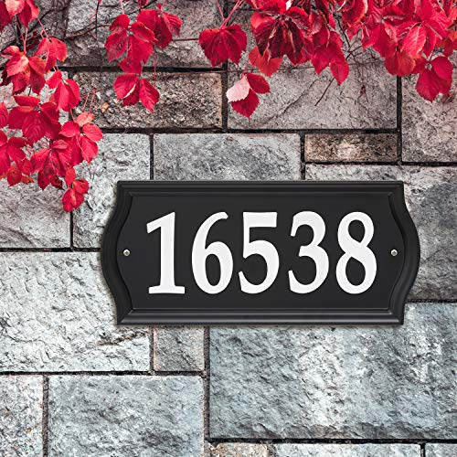 Whitehall Nite Bright Ashland Reflective Address Numbers Sign (14340)