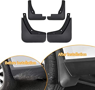 Upgraded Car Mudguards Splash Guards for 2009-2013 KIA Forte Front Rear Mudguards Wheel Accessories Styling & Body Fittings 4Pcs Black