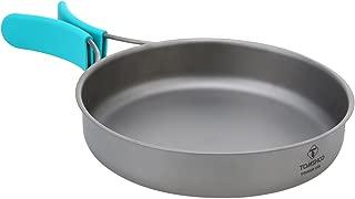 TOMSHOO Titanium Fry Pan