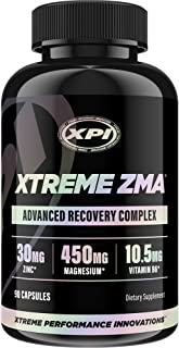 Xtreme ZMA (90 Caps) - Best Muscle Recovery - Best Post Work Out Supplements, Work Out Supplements