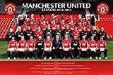 Poster Manchester United - Team Photo 14/15 - 91.5 x 61 cm