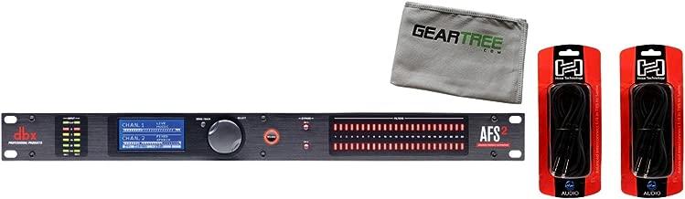 DBX AFS2 Dual Channel Advanced Feedback Suppression w/Cloth and 2 Cables