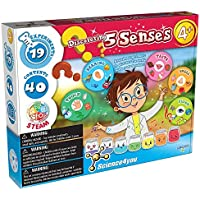 PlayMonster Science4you 5 Senses 19 Engaging Experiments Activity Set