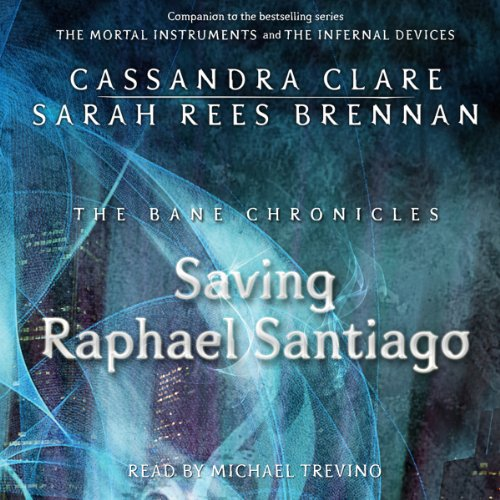 Saving Raphael Santiago audiobook cover art
