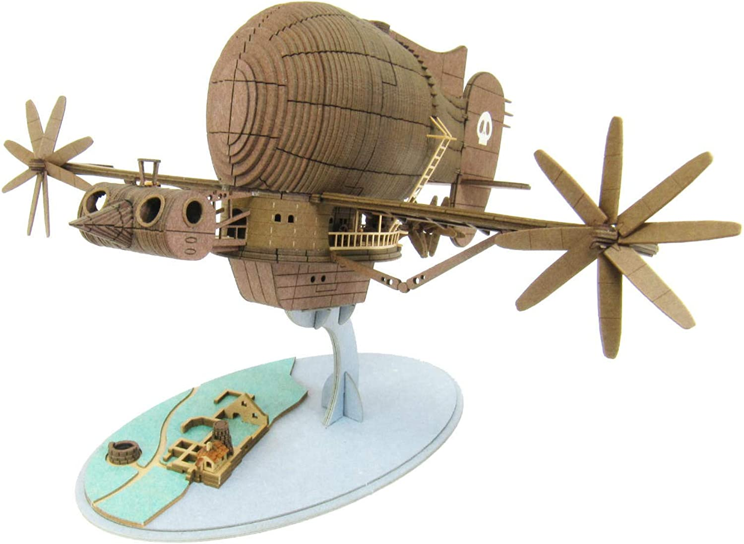 1 300 Studio Ghibli series Laputa  Castle in the Sky Tiger Moth MK0717 (Paper Craft)