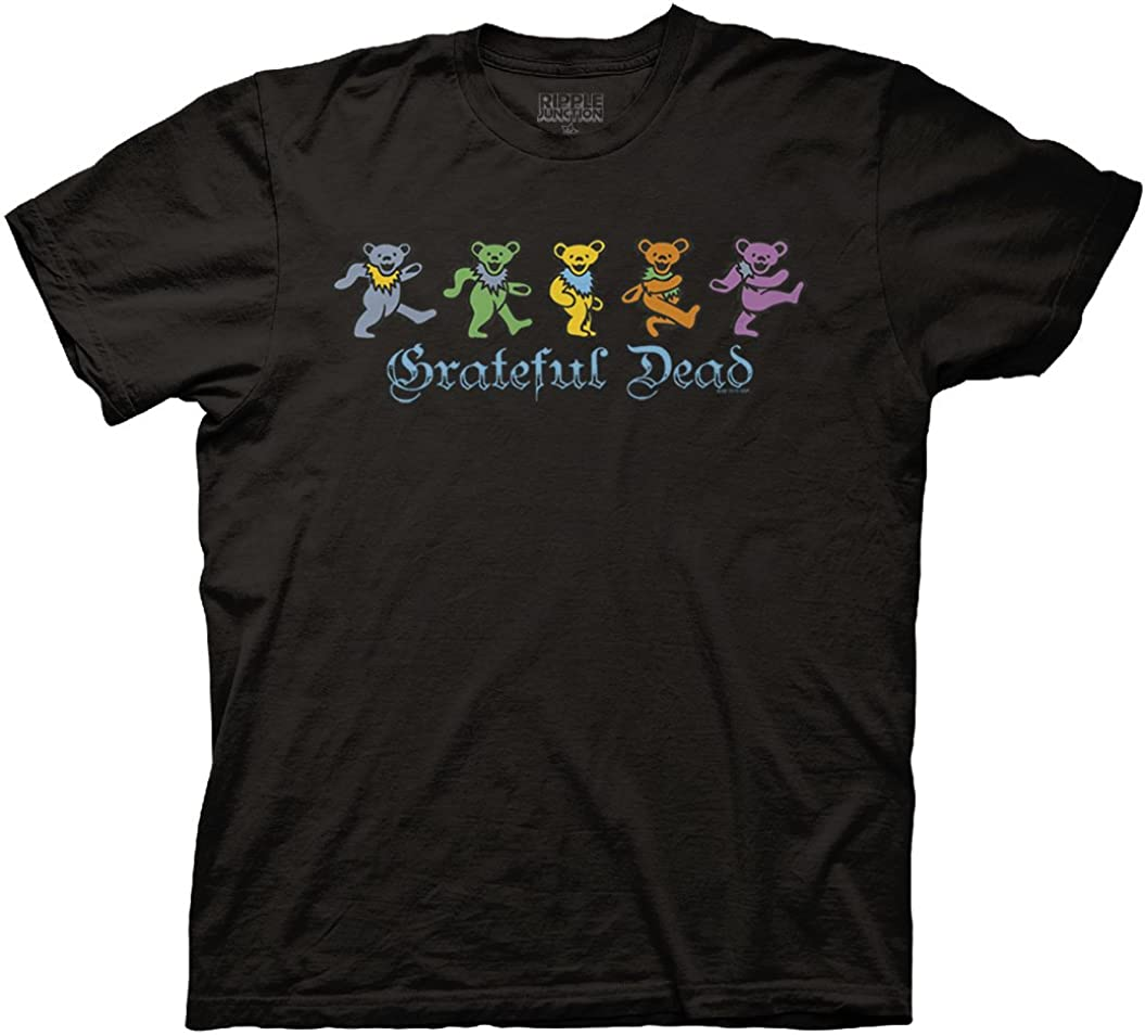 Ripple Max 79% OFF Junction Ranking TOP8 Grateful Dead Adult Li Gothic Text Dancing Bears