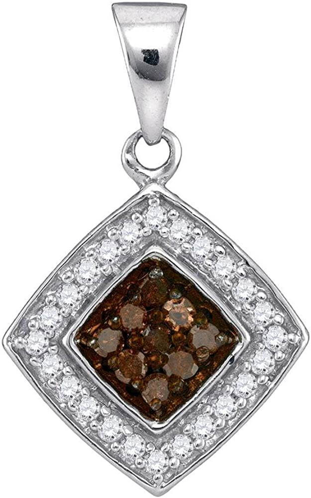 Sonia Jewels 10K White Gold Brown Channel Set Ranking New Orleans Mall TOP2 Chocolate