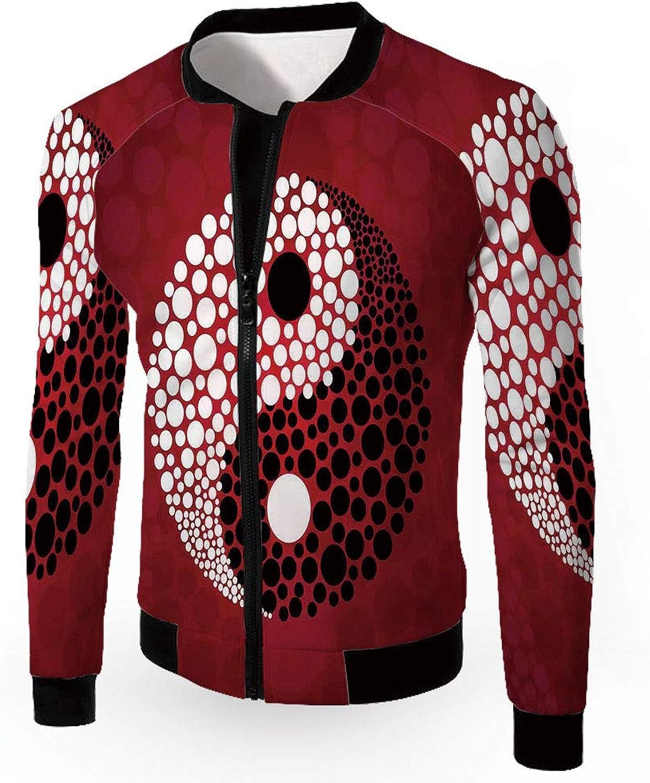 ad237ea86 iPrint Fashion Jackets,Yellow Jackets,Yellow Jackets,Yellow Submarine Decor,Men's  Lightweight Zip-up Windproof Windbr a76c85