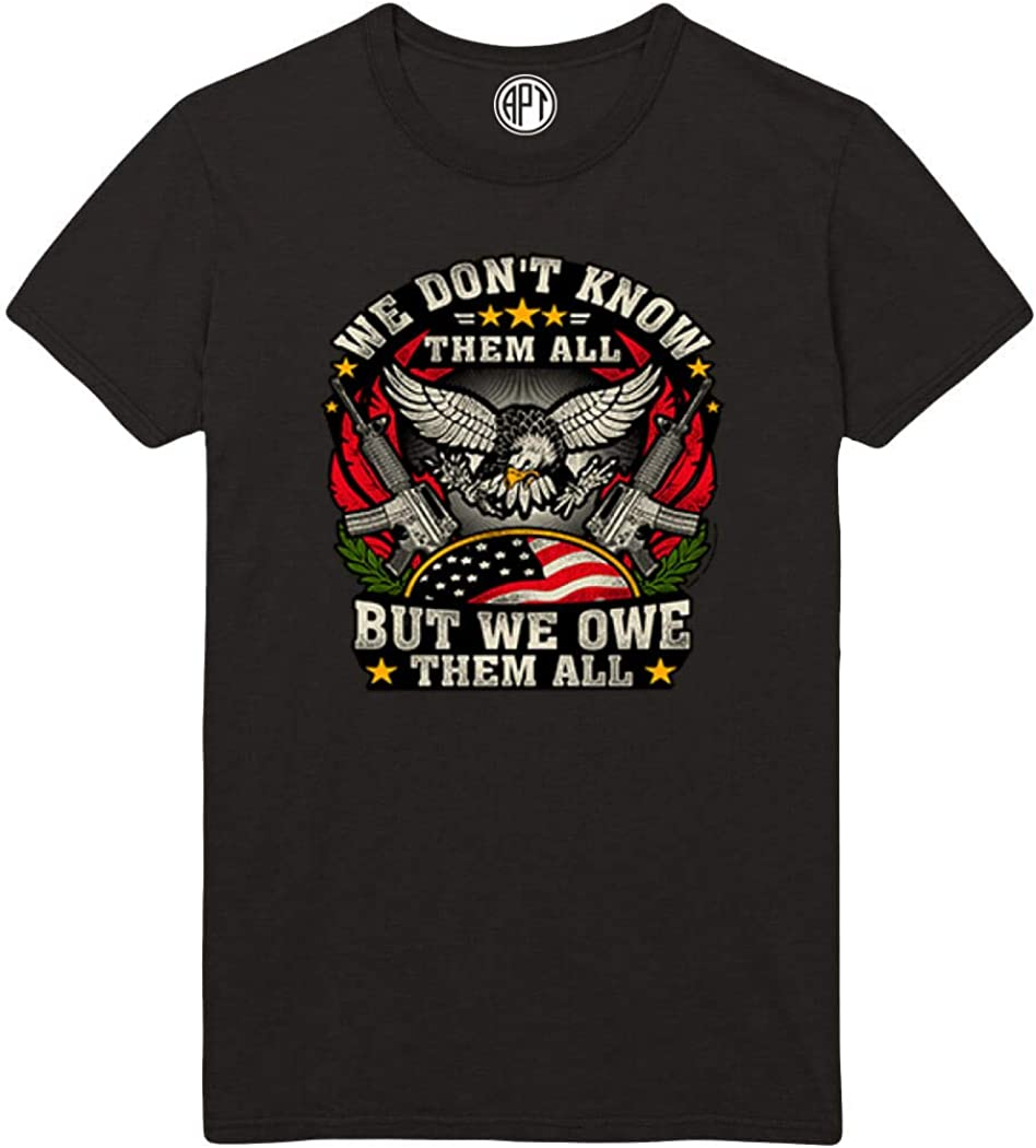 We Don't Know Them All Printed T-Shirt