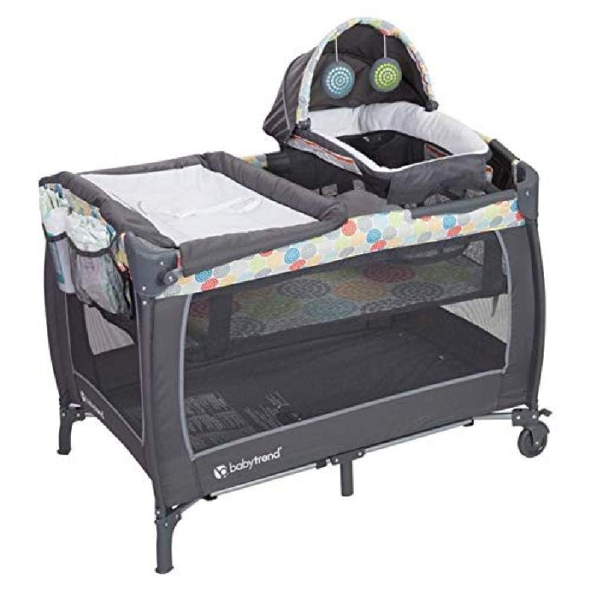Fashion Baby Trend Lil Snooze Deluxe II, Funfetti, Confetti