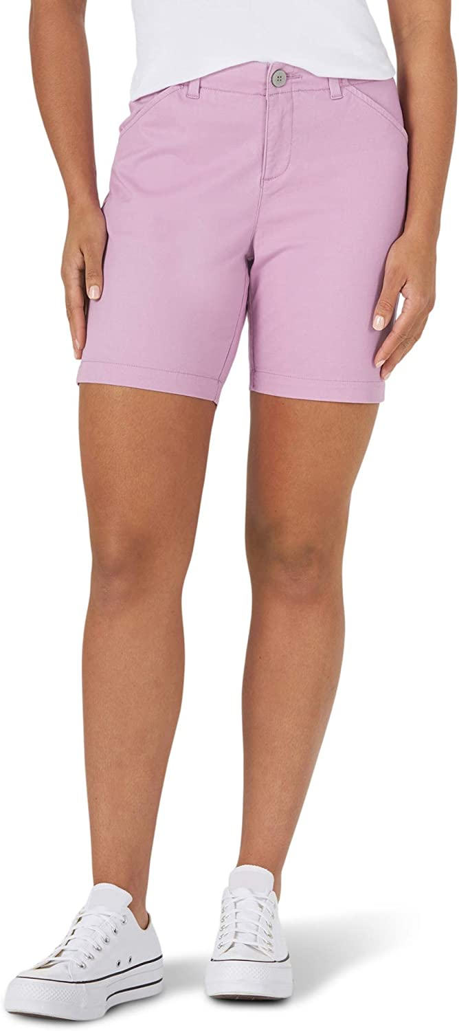 Lee Women's Regular Chino Don't miss the campaign Walkshort favorite Fit
