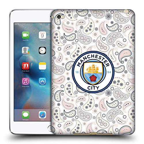 Head Case Designs Officially Licensed Manchester City Man City FC Third 2020/21 Badge Kit Soft Gel Case Compatible with Apple iPad Mini 4
