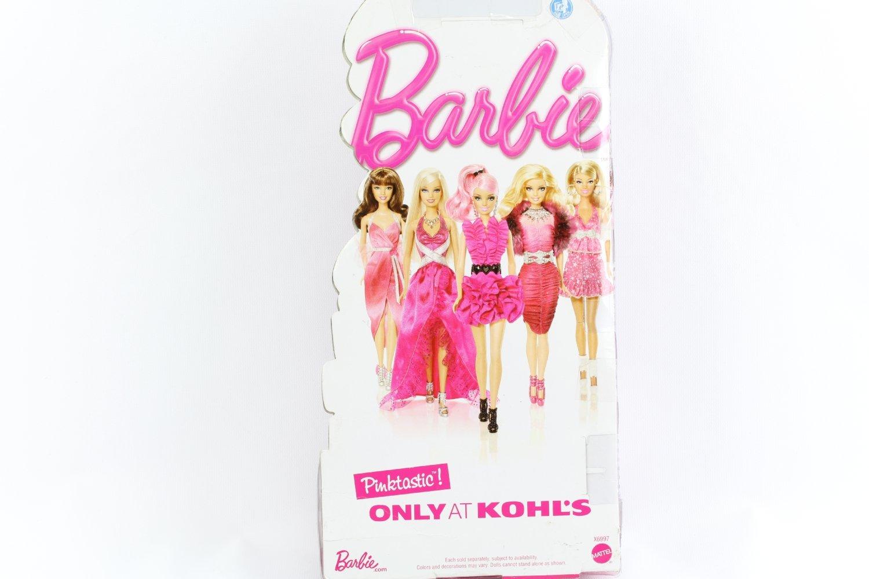 Pinktastic Barbie Doll - Barbie Brunette Pink Evening Gown