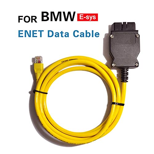 OBD2 Diagnostic Cable for BMW ICOM D Module Cable 10pin OBD Adapter for BMW,Qiilu Motorcycles Diagnostic Cable Tools Work with BMW ICOM or BMW ICOM A2 A3