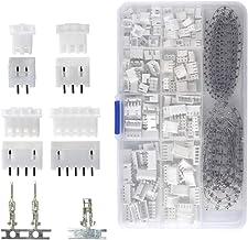 JST-2.54mm Dupont Broche Terminal Fil Connecteur Voie Câble Prise Électrique Set