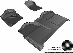 ثلاثية الأبعاد maxpider مشاية أرضية بملاءمة مخصصة مختارة من سيارات Chevrolet Silverado–kagu مطاط, Black
