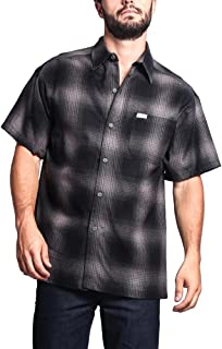 Western Casual Plaid Short Sleeve Button up Shirt