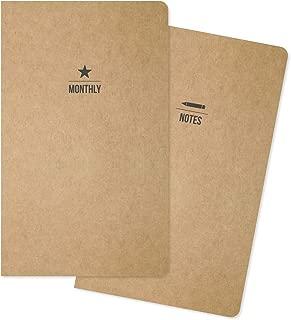 Carpe Diem by Simple Stories Traveler's Notebook Inserts - Monthly