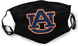 Auburn University Unisex Anti Dust Adjustable Face Mask.Double Sided Reusable Mouth Mask