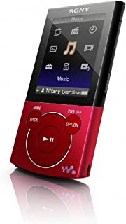 Sony Walkman E-344 Series 8 GB Video MP3 Player (Red)