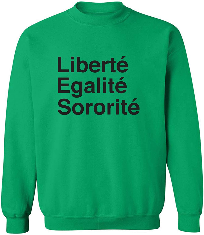 zerogravitee Liberte Egalite Sororite Crewneck Sweatshirt