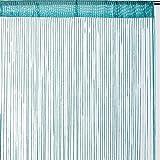 Best Interior–Fadenvorhang, draada türkis Maße 90x 240cm