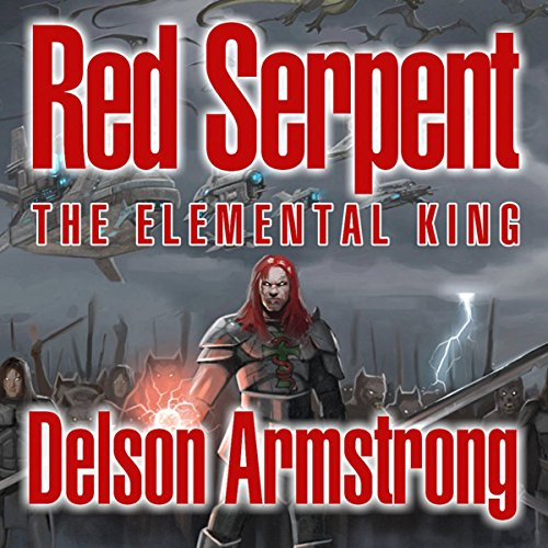 Red Serpent: The Elemental King cover art
