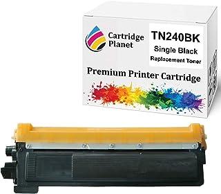 Cartridge Planet Black Compatible Toner Cartridge for Brother TN-240BK TN240BK (2,200 Pages) for DCP9010CN HL3040CN HL3045...