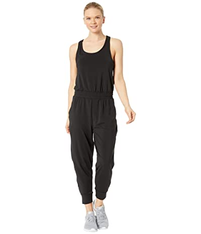 Nike Yoga Jumpsuit (Black/Dark Smoke Grey) Women