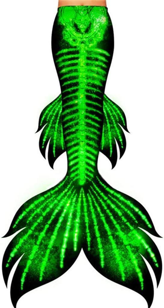 HJKKLL Girls Cosplay Costume Swimwear Mermaid Shell Swimsuit Bik