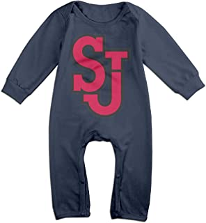 St John's Red Storm Cartoon Long Sleeves Variety Baby Onesies Creeper for Little Baby