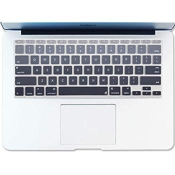 A1370 and A1465 Kuzy AIR 11-inch Ultra Thin Clear Keyboard Cover Soft TPU Skin for MacBook Air 11.6 Models Clear