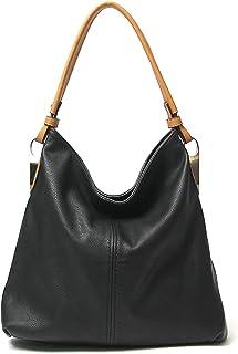 Janin Handbag Hobo Umhängetasche im Bucket-Stil mit extra langem Gurt