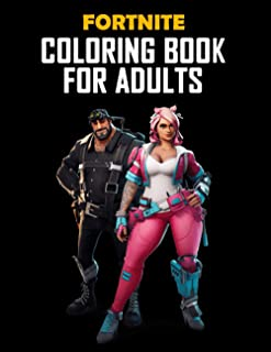 FORTNITE COLORING BOOK FOR ADULTS: 50 coloring pages for kids and adults: Fortnite Coloring Book For Kids And Adults, +50 ...