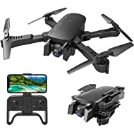 MIXI WiFi FPV Drones with Camera for Adults, Foldable RC Quadcopter Drone with 1080P HD Camera...