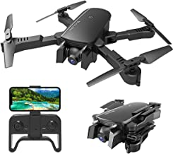 $79 Get MIXI WiFi FPV Drones with Camera for Adults, Foldable RC Quadcopter Drone with 1080P HD Camera for Beginners, Altitude Hold, Gravity Control, Follow Mode, Headless Mode, One Key Take Off/Landing